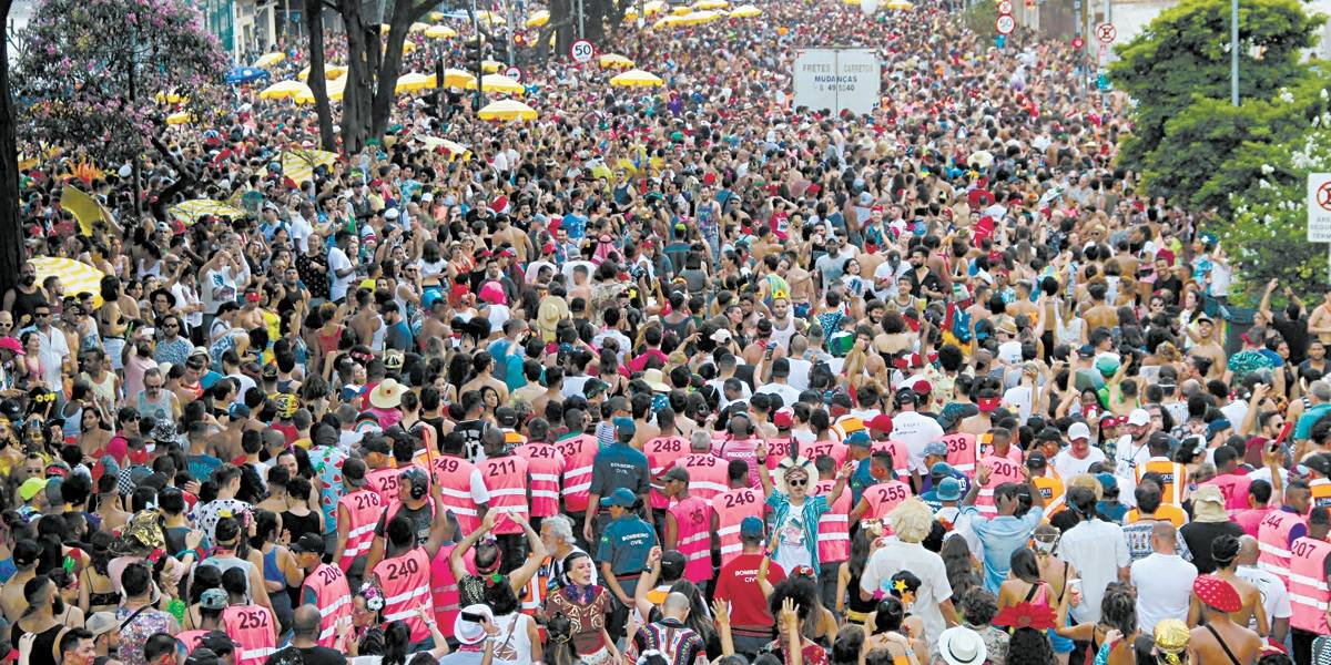 12 milhões de foliões passaram pelos blocos de rua no carnaval de São Paulo