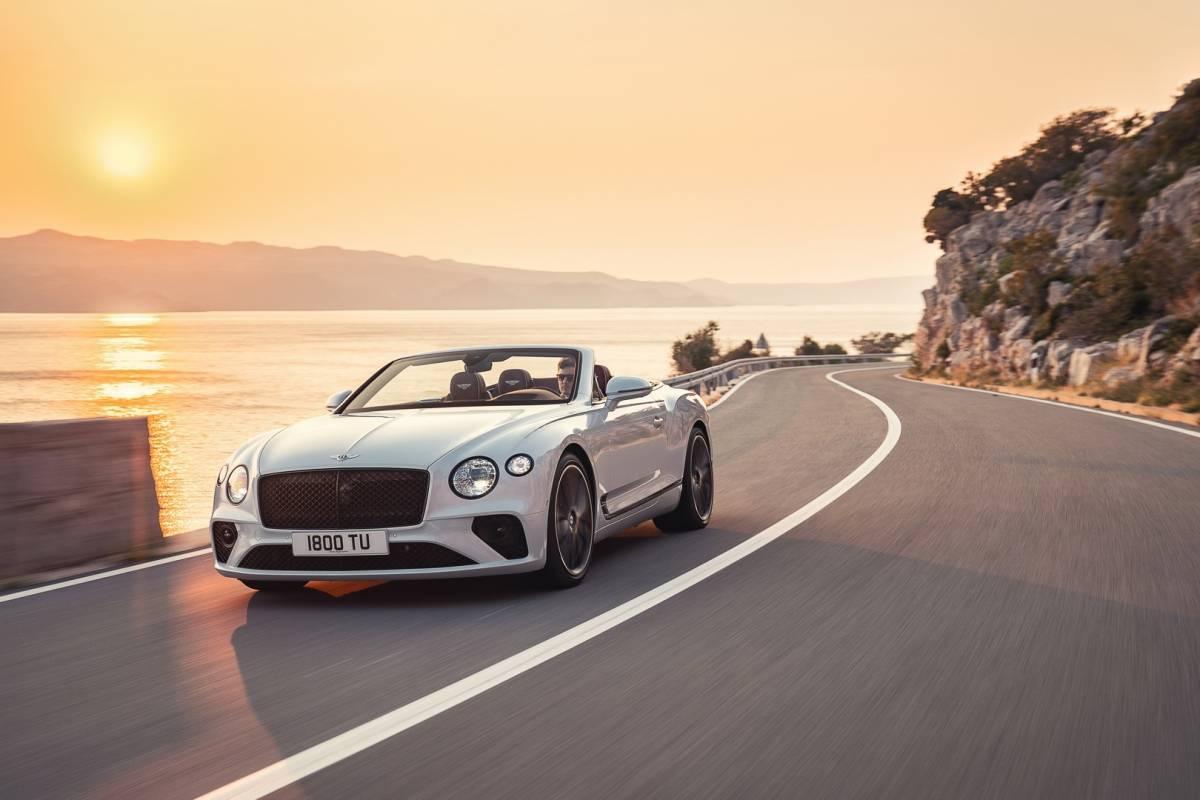 Bentley Continetal GT Reprodução/ Divulgação
