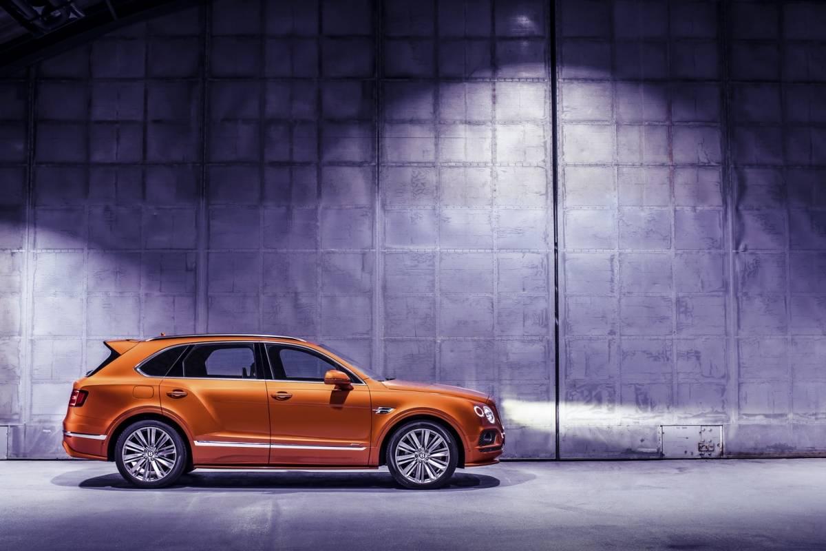 Novo Bentley Bentayaga Reprodução/ Divulgação