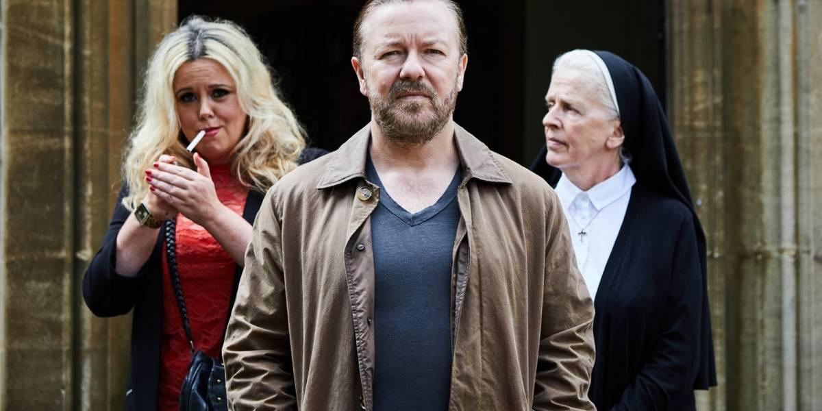 Netflix: 'After Life' traz Ricky Gervais como viúvo que não supera a morte de sua mulher