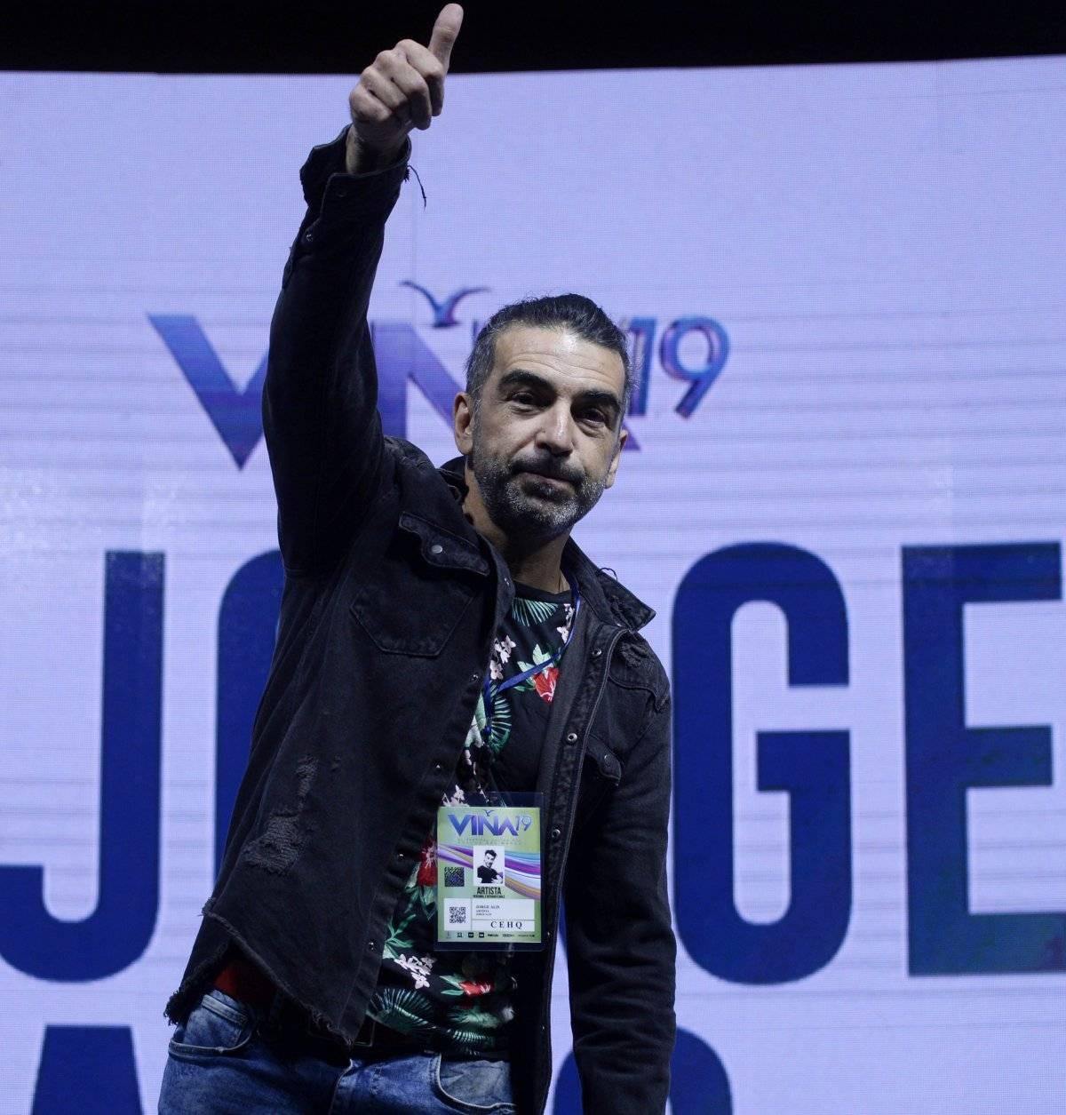 Jorge Alís en Viña