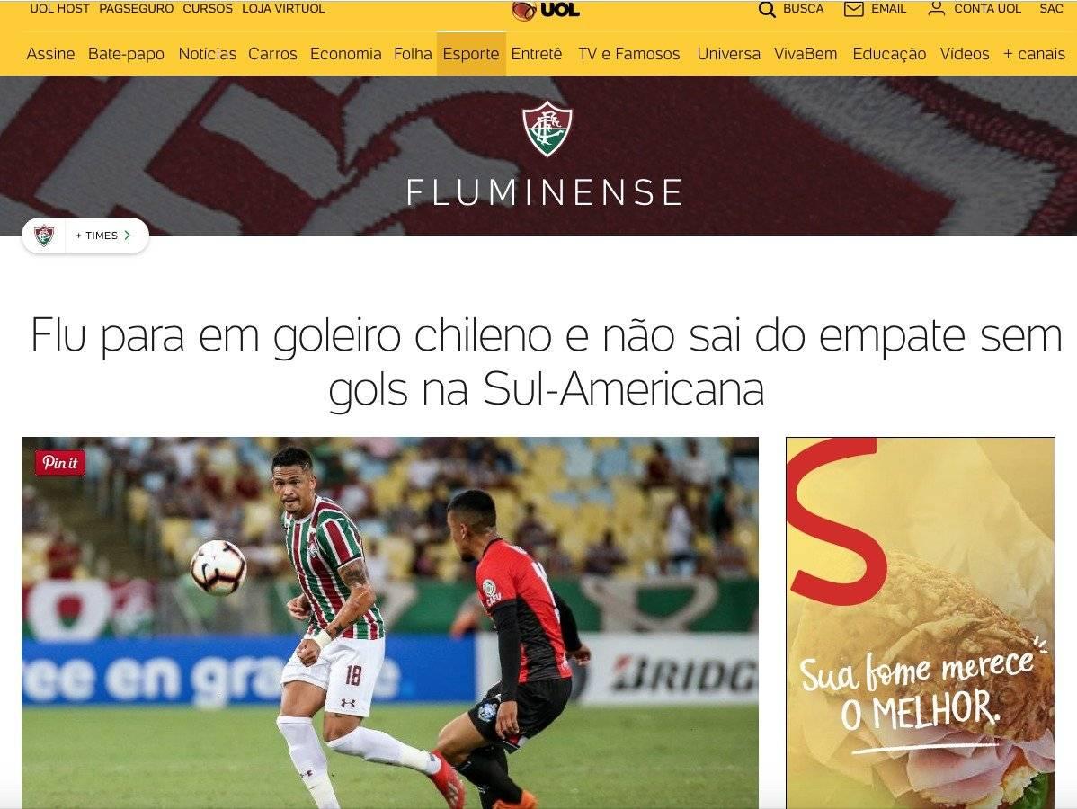 UOL, Medio brasileño