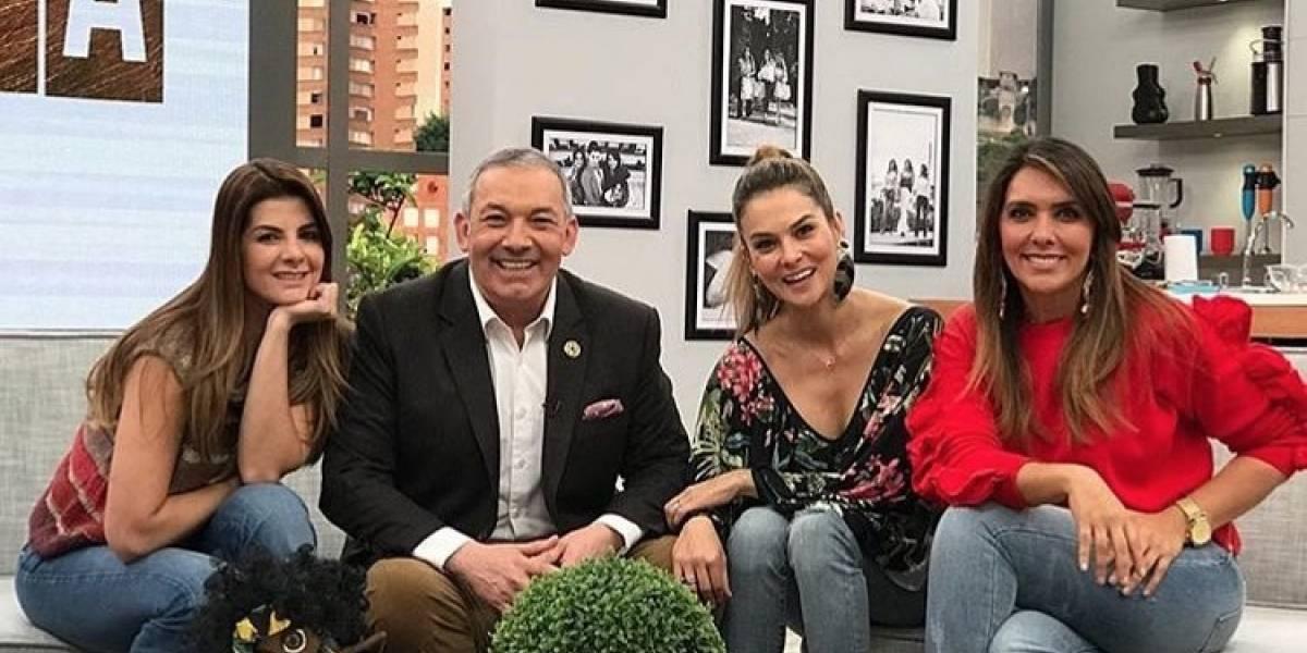 Así fue el reencuentro de Mónica Rodríguez con el elenco de 'Día a Día' tras polémica salida