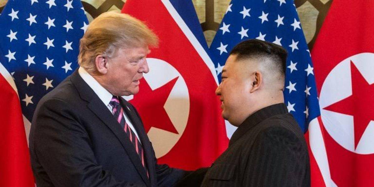 Trump y Kim se muestran optimistas en Hanoi