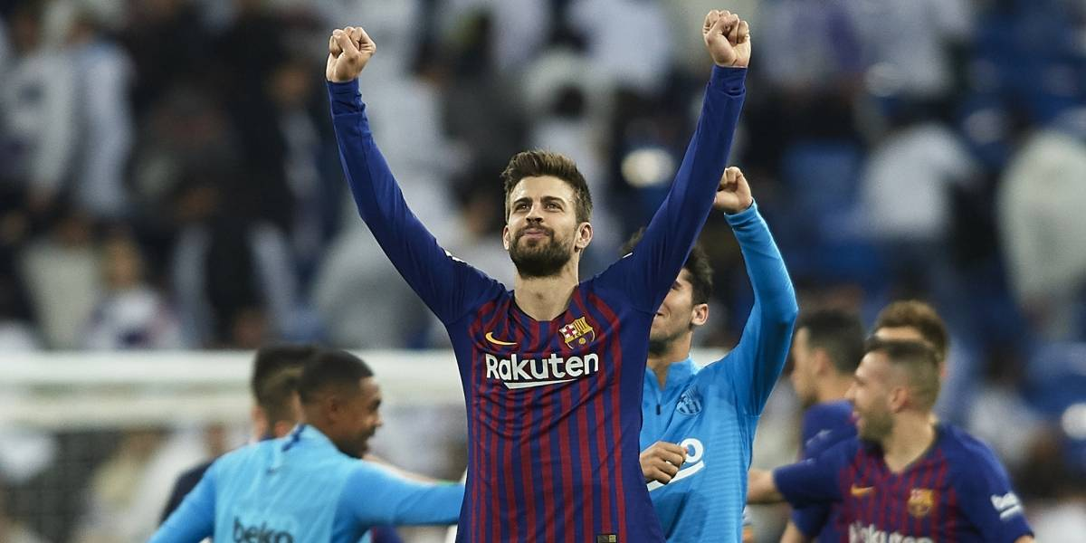 Piqué aplaude 'el baile' que le dio Barcelona al Real Madrid