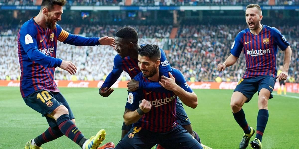 """Barcelona volvió a ridiculizar al Real Madrid y apunta al """"triplete"""" tras alcanzar la final de la Copa del Rey"""