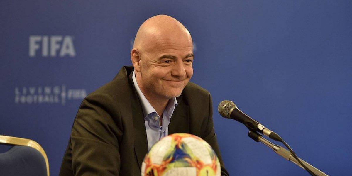 Presidente de la FIFA insiste que Mundial de Catar 2022 sea de 48 equipos