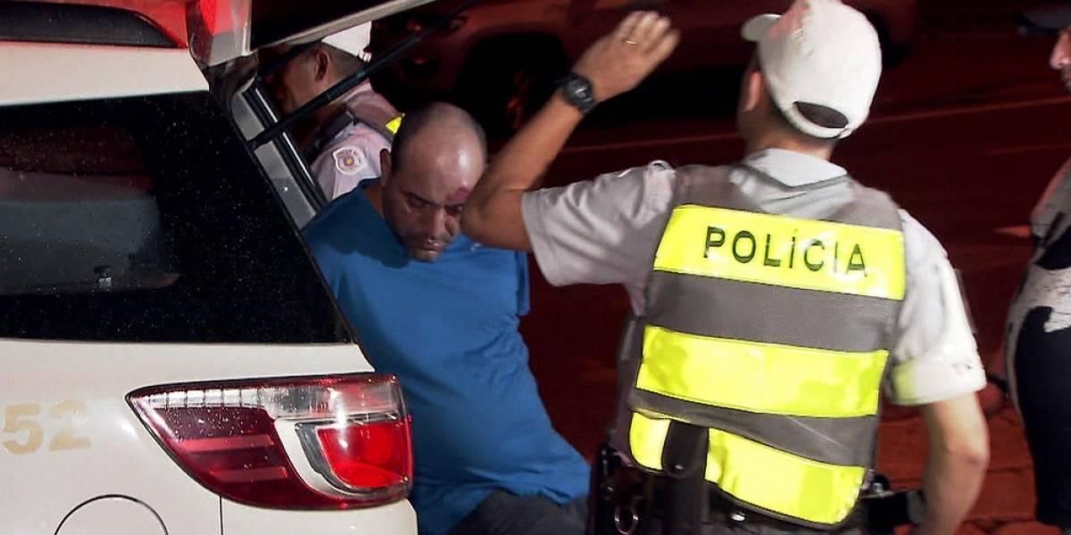 Após perseguição, integrante de quadrilha especializada em roubo de cargas é preso