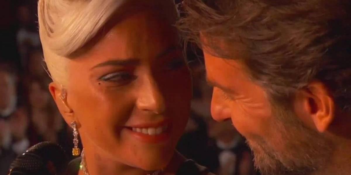 Video: lo que no viste al finalizar la presentación de Lady gaga y Bradley Cooper