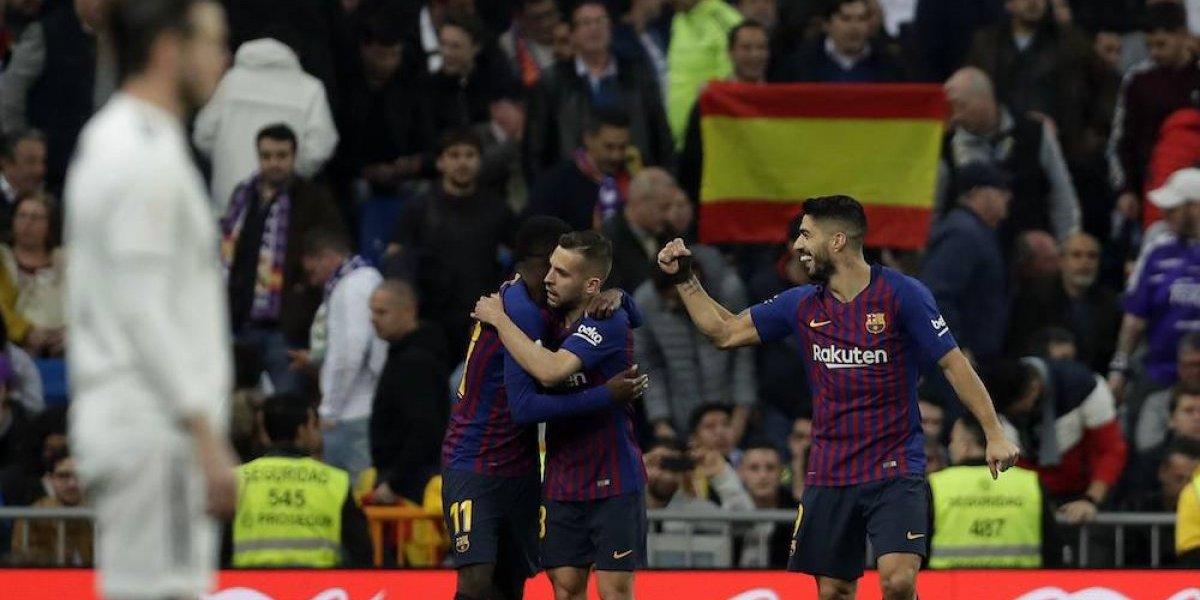 Barcelona elimina al Madrid y califica a la final de la Copa del Rey