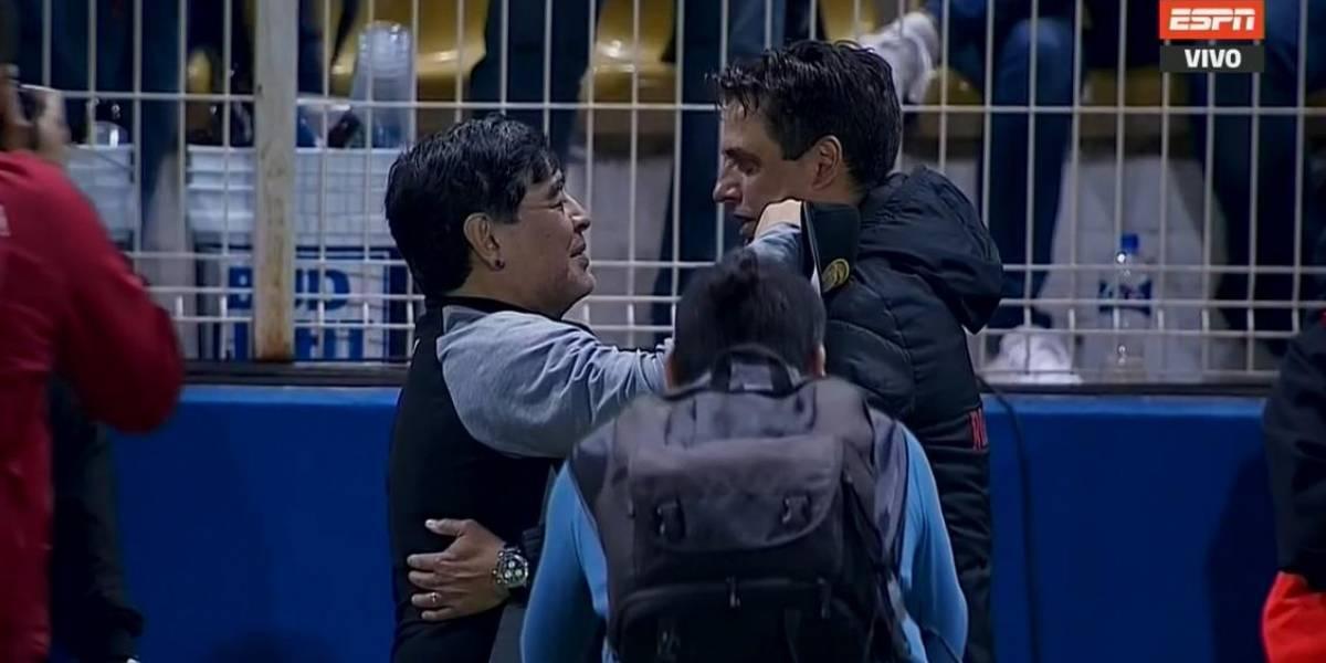 Maradona le ganó a Hoyos y sueña con ganar la Copa MX con Dorados