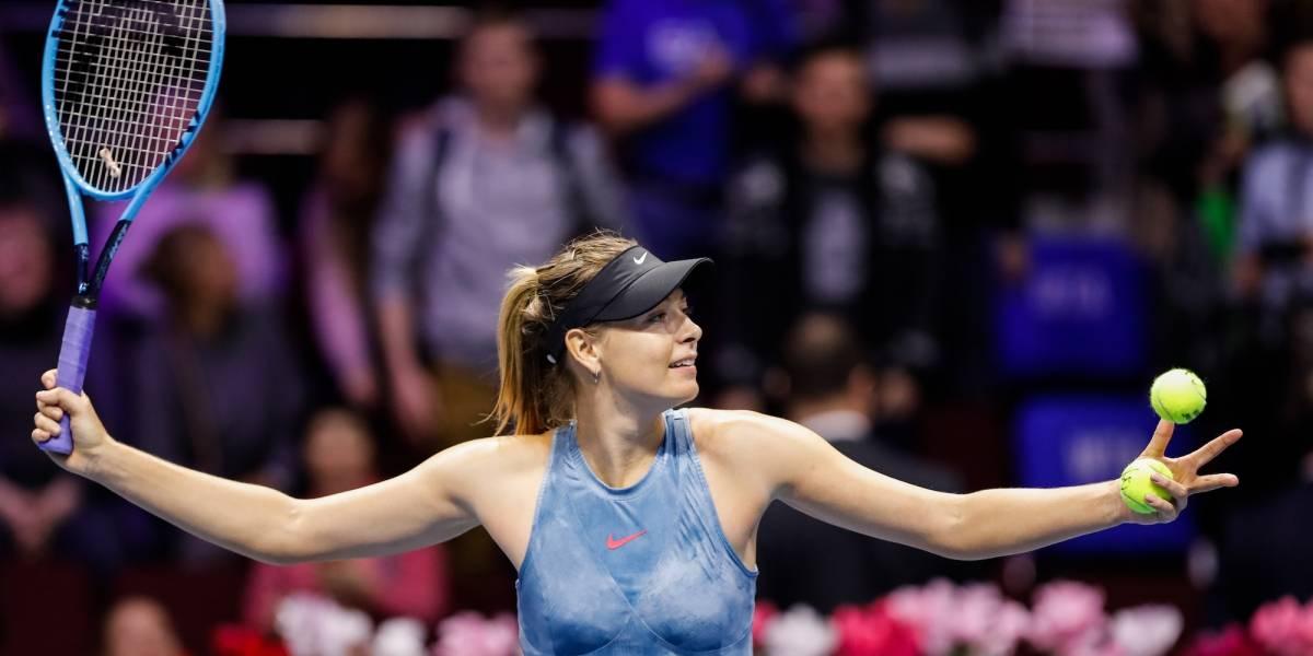Se retira María Sharapova de torneo debido a una operación