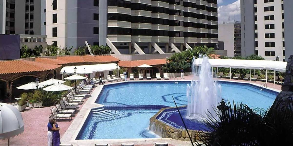 Así es el hotel donde estaría hospedado Fernando Alvarado en Caracas, Venezuela