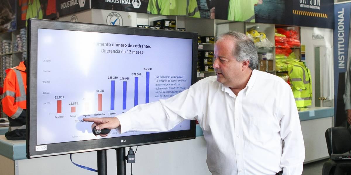 INE: Desempleo sube 0,3 puntos porcentuales y alcanza un 6,8%