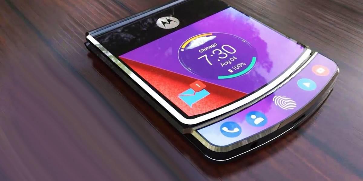 Motorola confirma que trabaja en su propio smartphone plegable tipo RAZR