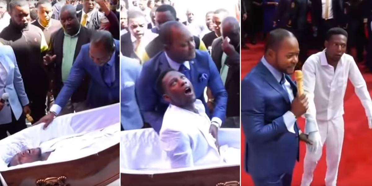 Este pastor 'revivió' a un hombre, pero quedó como un zombie