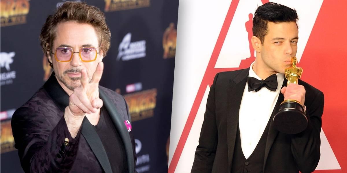 Robert Downey Jr.elogia atuação de Rami Malek: 'um dos principais nomes'