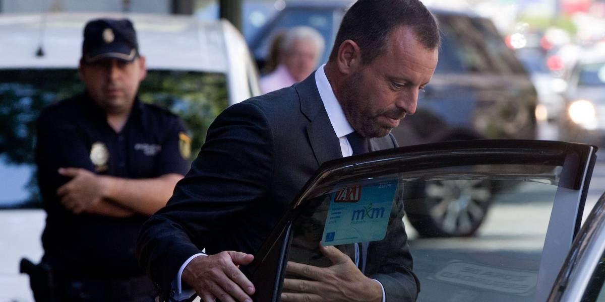 Sale de la cárcel ex presidente de Barcelona, tras dos años preso