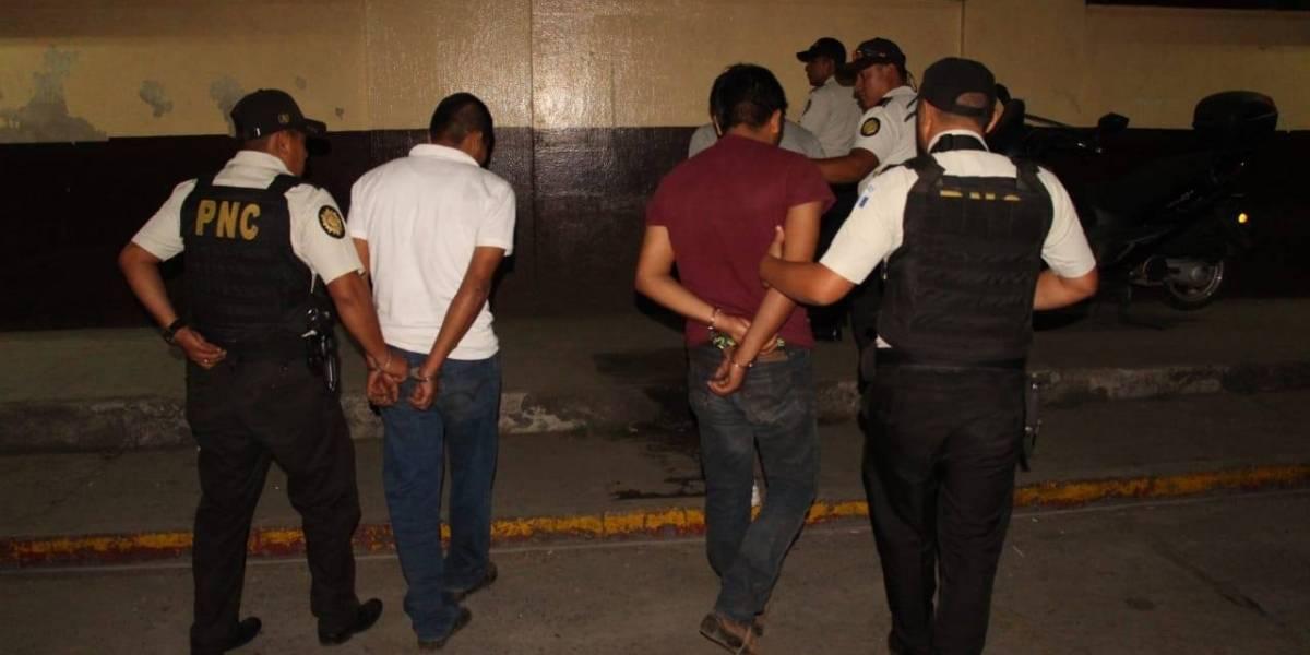 Tres presuntos secuestradores son capturados en Santa Lucia Cotzumalguapa