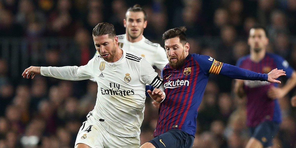 Ral Madrid y Barcelona definen a un finalista de la Copa del Rey