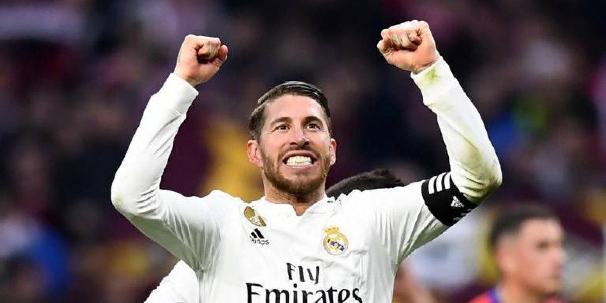 Sergio Ramos enloquece las apuestas por el clásico ante el Barcelona