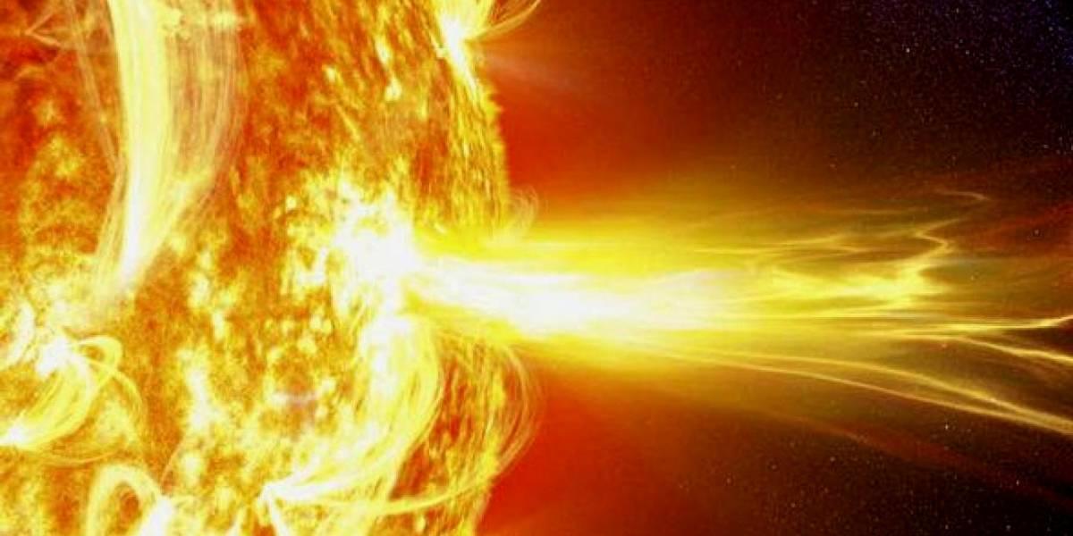 ¡Comenzó hoy! Una tormenta solar azota al planeta Tierra