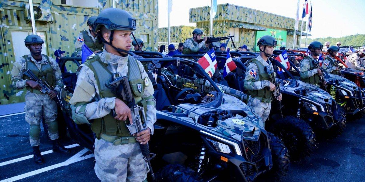 Afirma que 8,500 soldados, drones y binoculares refuerzan la franja fronteriza