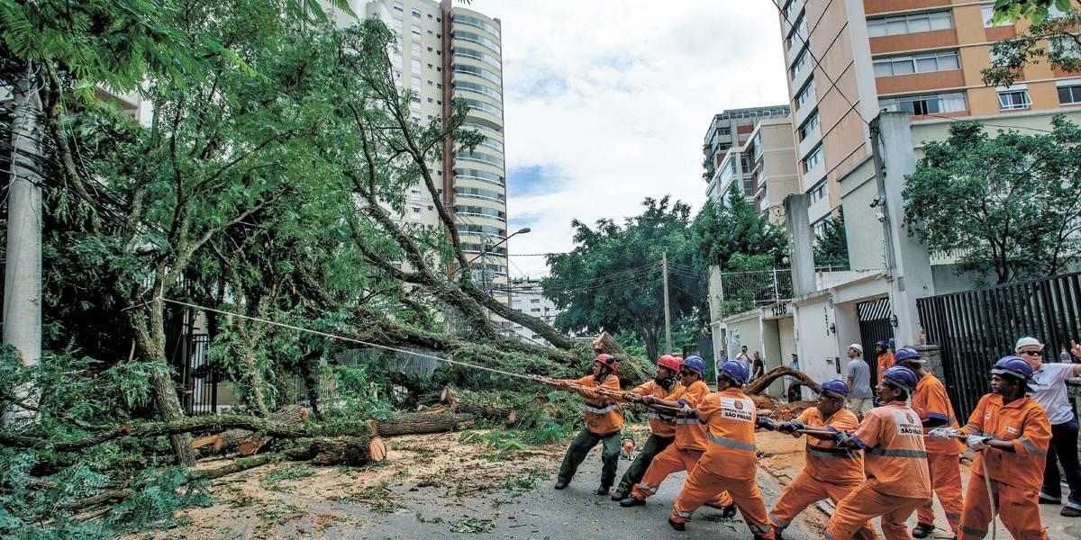 Ainda tá faltando força em São Paulo