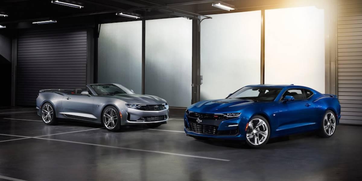 Chevrolet perfecciona la sexta generación del Camaro