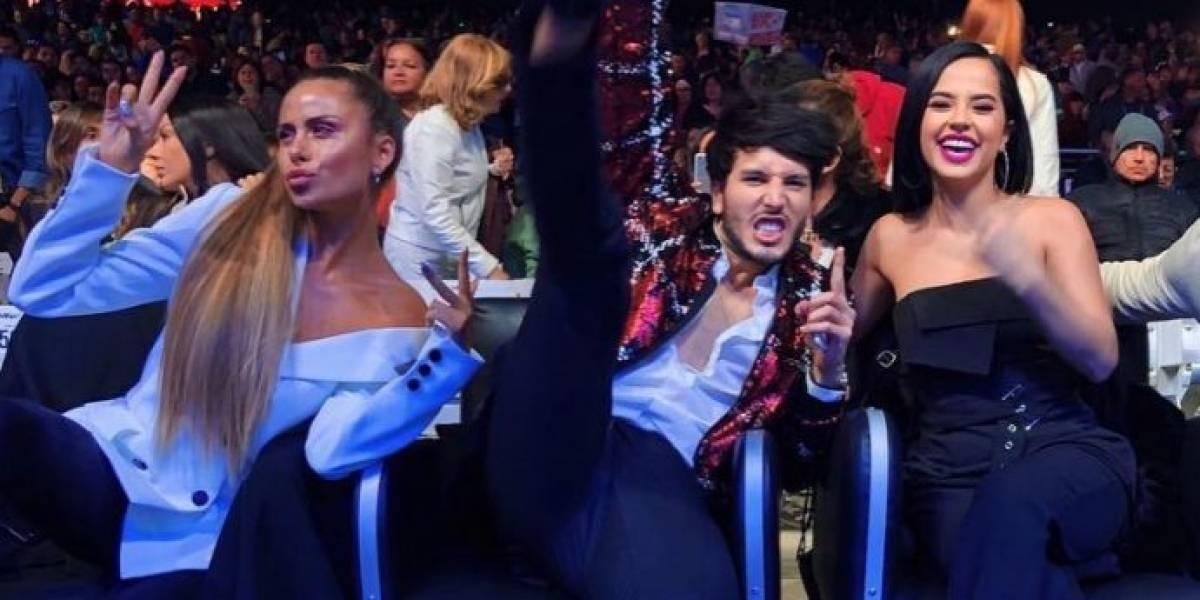 La controvertida reacción de Camila Gallardo al ver a Sebastián Yatra abrazando a Becky G