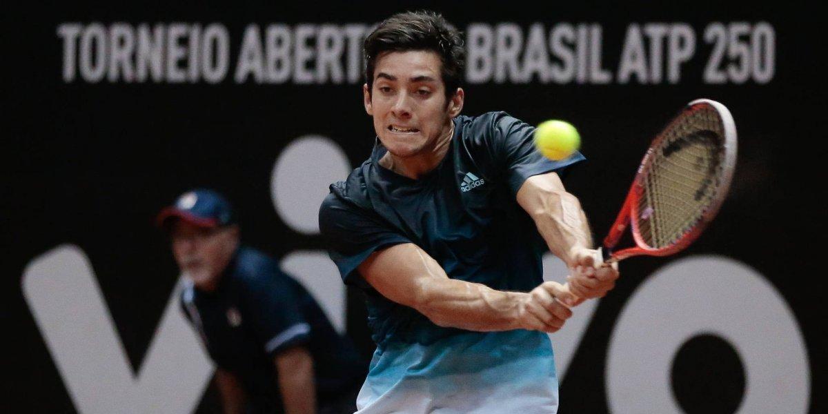 ¿Cuándo, a qué hora y quién transmite a Christian Garín en los cuartos de final del ATP 250 de Sao Paulo?