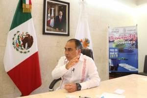 Gobernador de Guerrero Héctor Astudillo