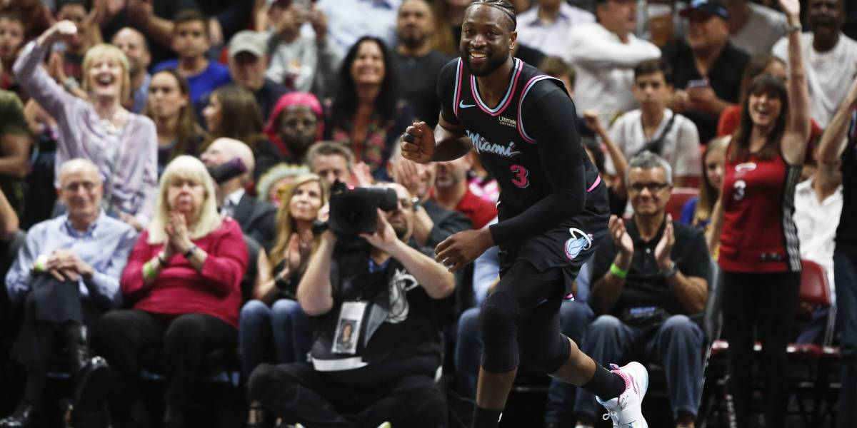Sorpresa de Wade y los Heat para superar a los Warriors
