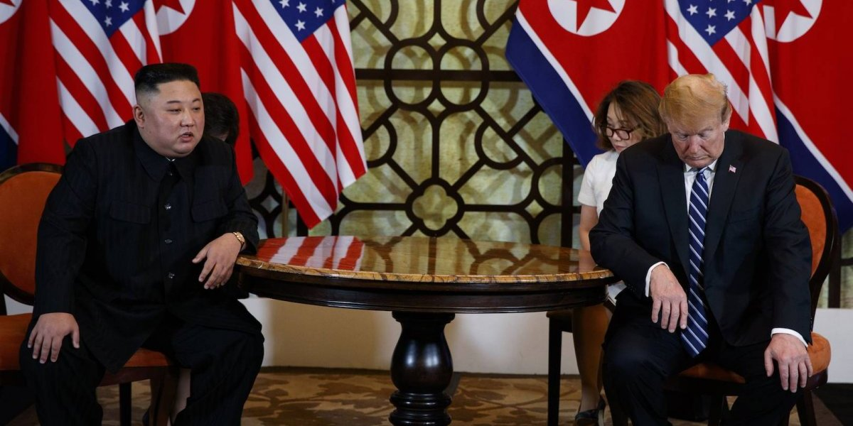 Fracasa la segunda cumbre entre Donald Trump y Kim Jong-un