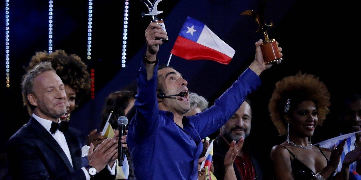 Viña 2019: Comediantes se rinden ante rutina de Jorge Alís