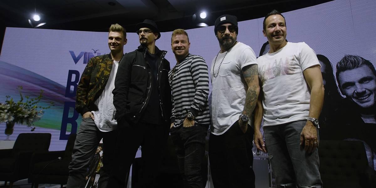 Viña 2019: Backstreet Boys prometen volver a Chile con gira mundial