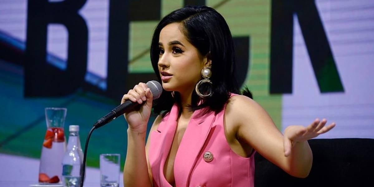 Becky G habló del controvertido video de Camila Gallardo y de su relación con Paloma Mami