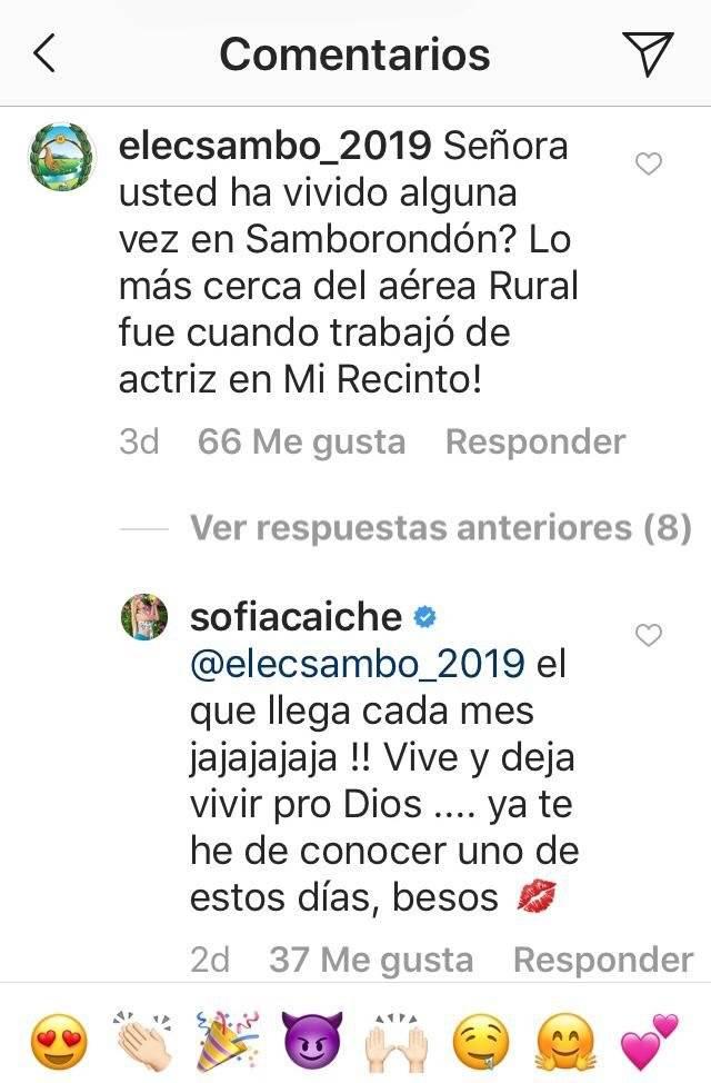 Respuestas de Sofía Caiche Captura de pantalla