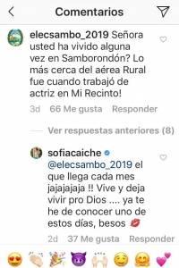 Respuestas de Sofía Caiche