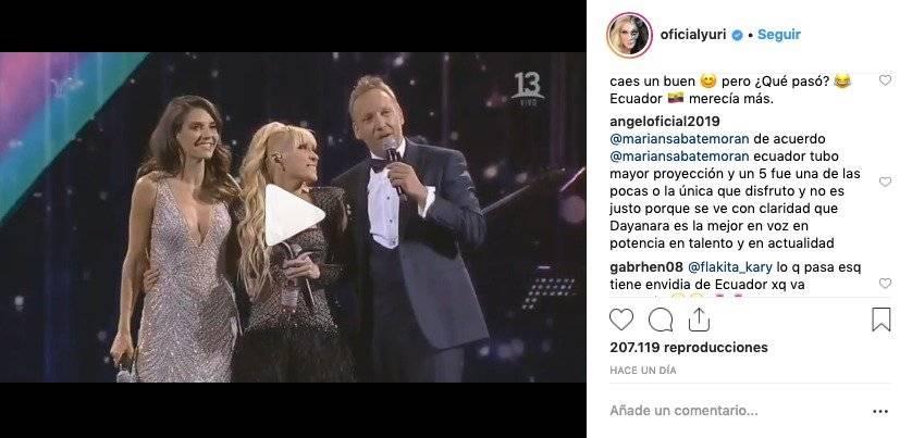 Comentario de Angelo Barahona a Yuri
