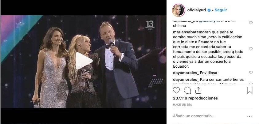 Comentario de Marian Sabaté a Yuri