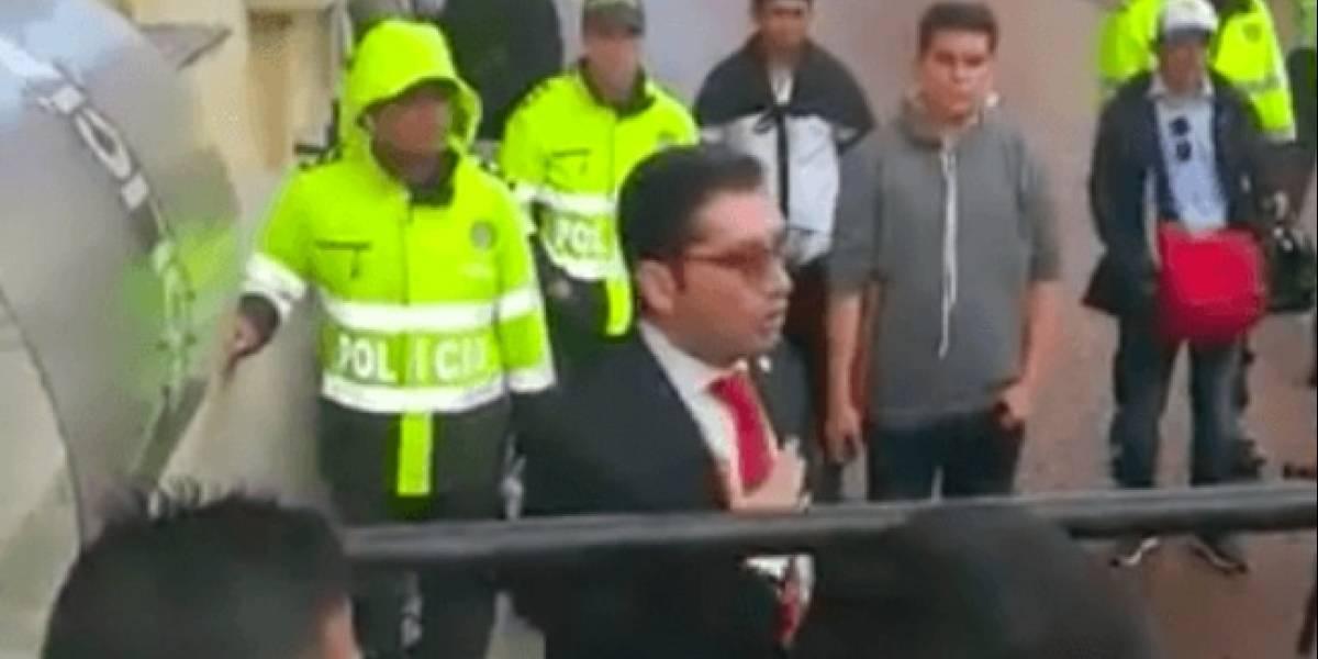 """La identidad del hombre que pidió """"sacar a plomo"""" a Petro y Maduro"""