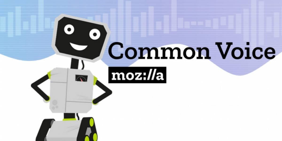 Mozilla publica un enorme repositorio de datos de voz para desarrolladores