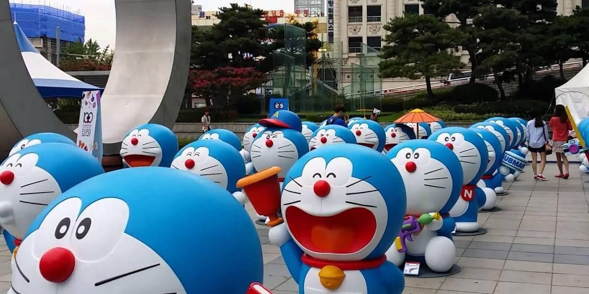 Doraemon el gato cósmico tiene su propia estación de trenes en Japón