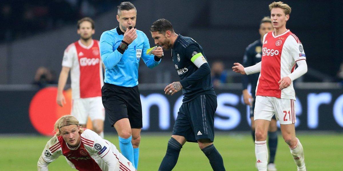 Eso no se hace: Sergio Ramos fue castigado por la UEFA por forzar una amarilla en la Champions