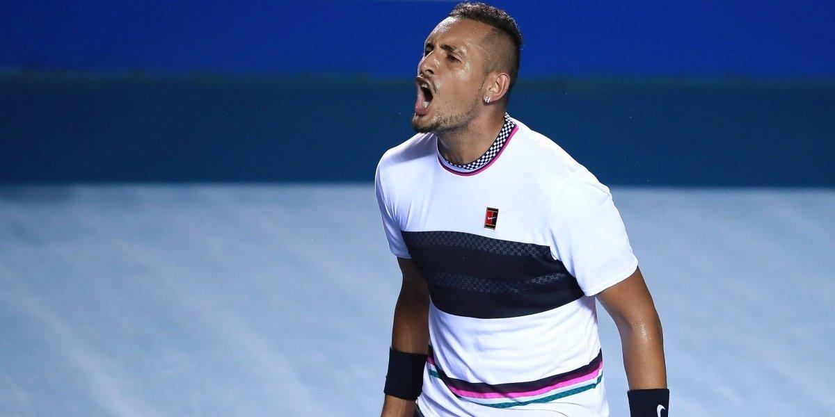 Nick Kyrgios da la sorpresa y vence a Rafael Nadal en octavos de final de Acapulco
