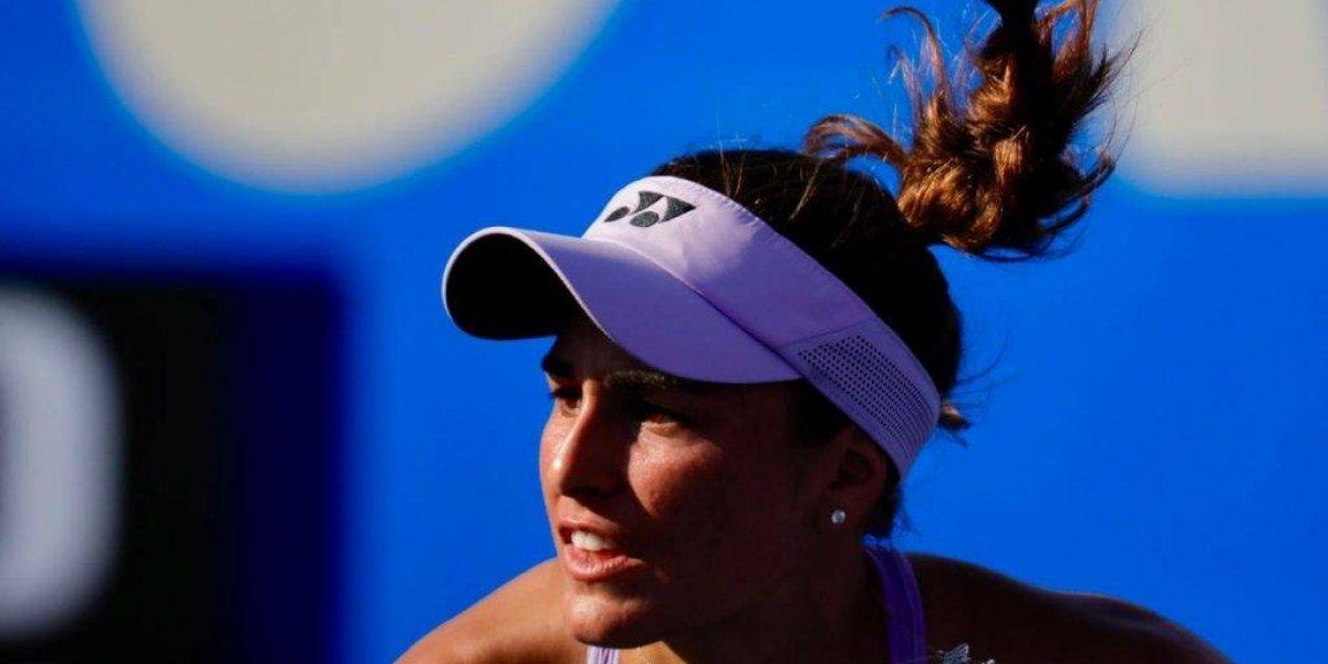 Mónica Puig sale de torneo por intoxicación de alimentos