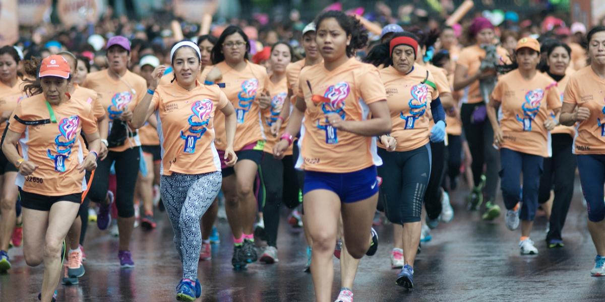 Celebran 15 años corriendo por la igualdad y el empoderamiento
