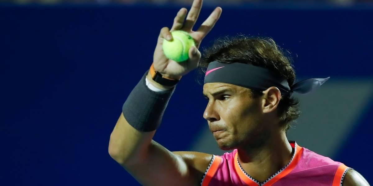 VIDEO: 'Kyrgios le falta respeto al público, al rival y a él mismo', afirmó Nadal