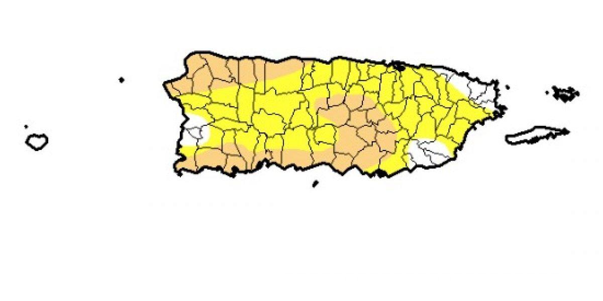 Aumentan número de pueblos en sequía moderada